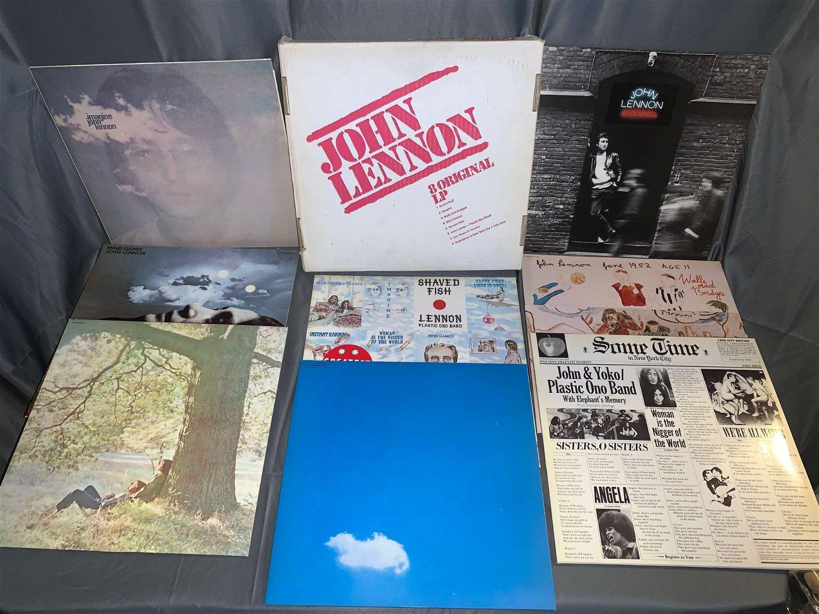 John Lennon German 8 LP Box Set