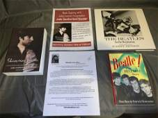 Three Beatles Books Signed by the Authors