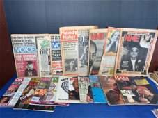18 Vintage Music Magazines NonBeatle Covers