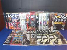 21 Mojo Magazines with Beatles Covers