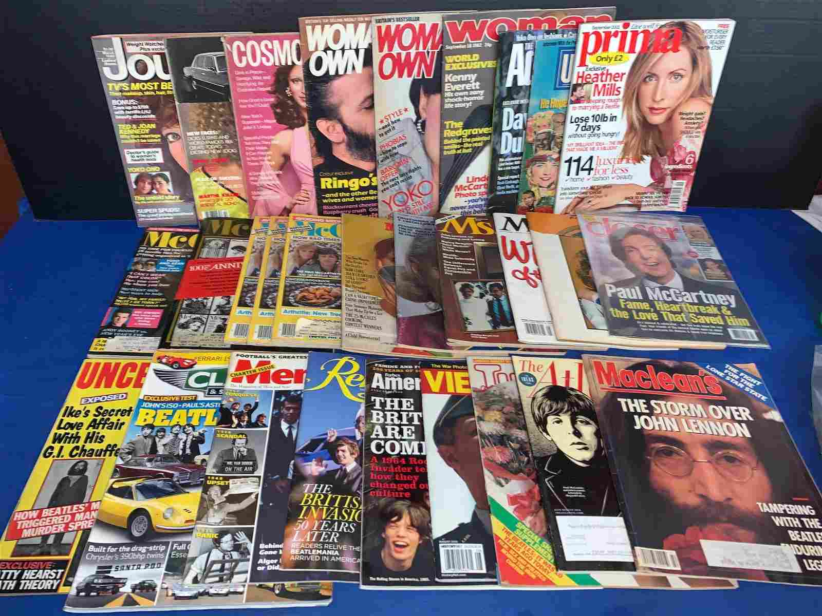 30 Non-Music Magazines Featuring The Beatles