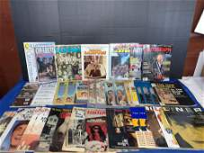 37 Assorted Magazines Featuring The Beatles