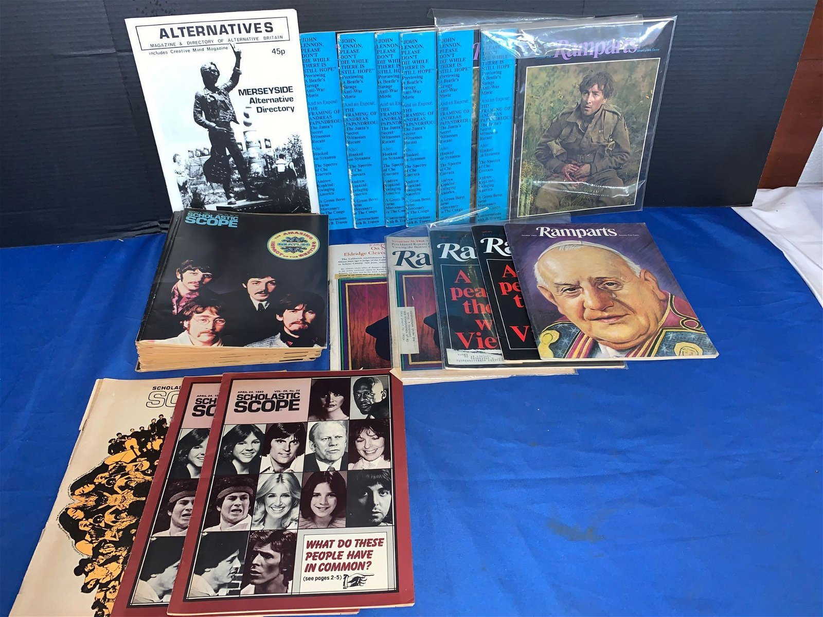 34 Assorted Magazines Featuring The Beatles