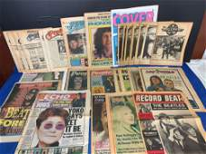 29 Magazines Featuring The Beatles