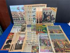 34 Magazines Featuring The Beatles