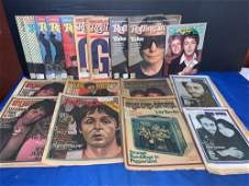 18 Rolling Stone Magazines Featuring The Beatles