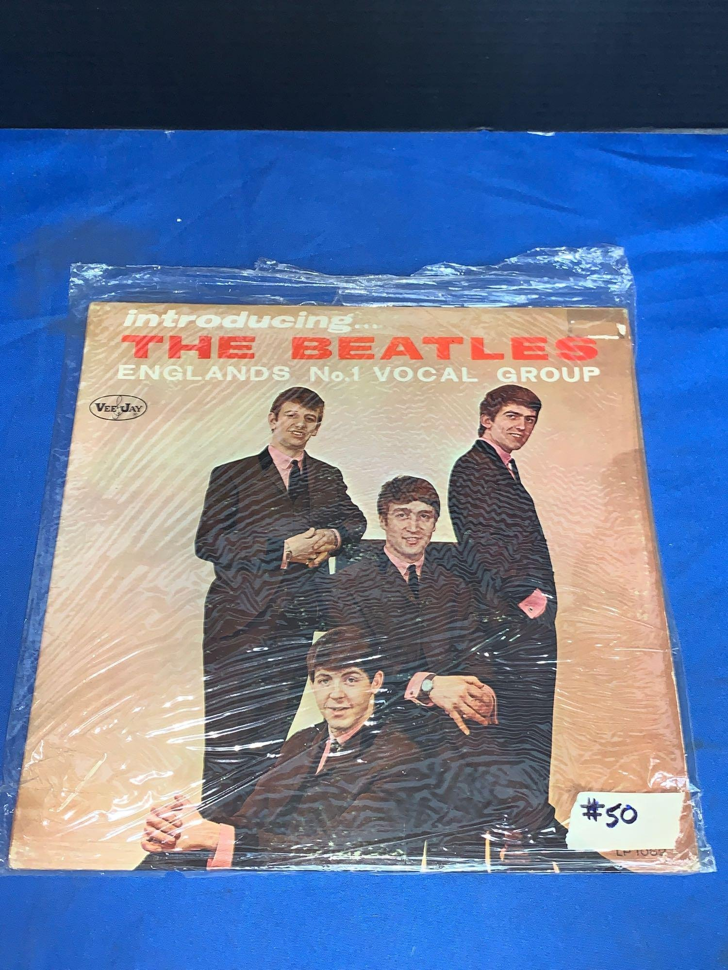Record: Introducing The Beatles, VeeJay VJLP1062