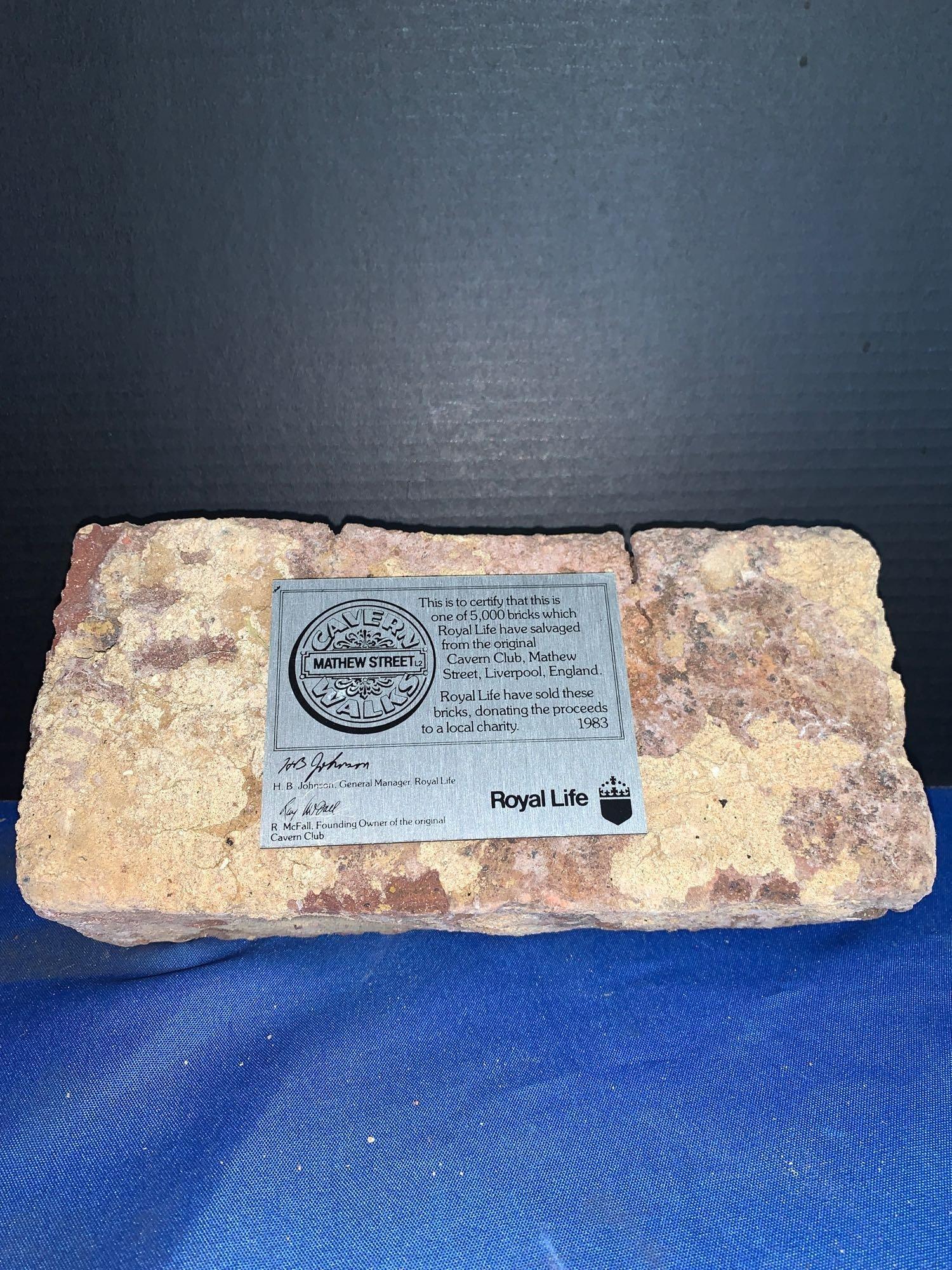 Certified Cavern Club Brick