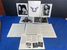 Paul McCartney & Wings Press Kit, etc.