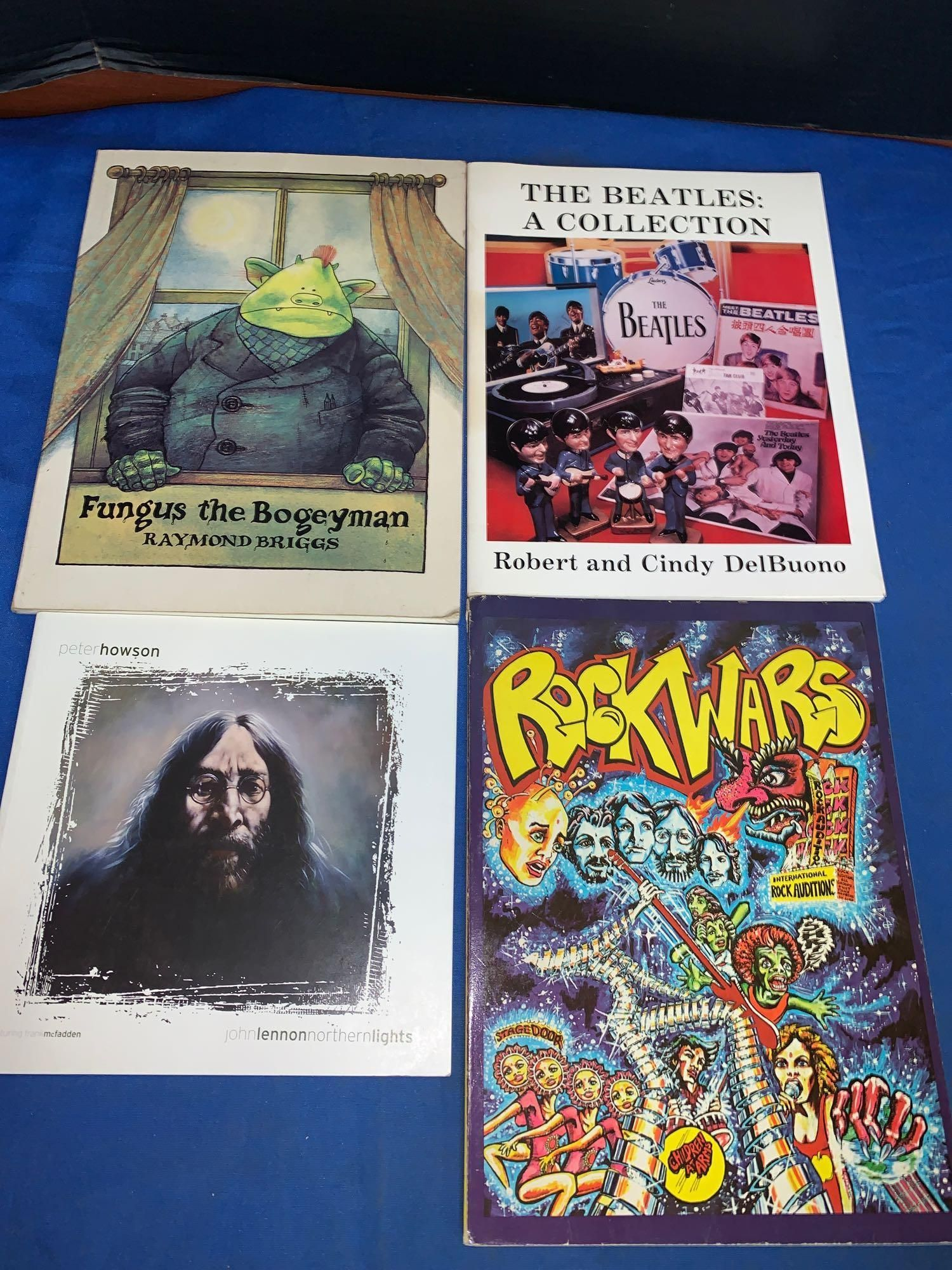 Four Books Including Signed Peter Howson