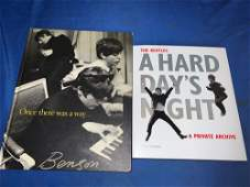 Two Beatles Books Signed by the Authors