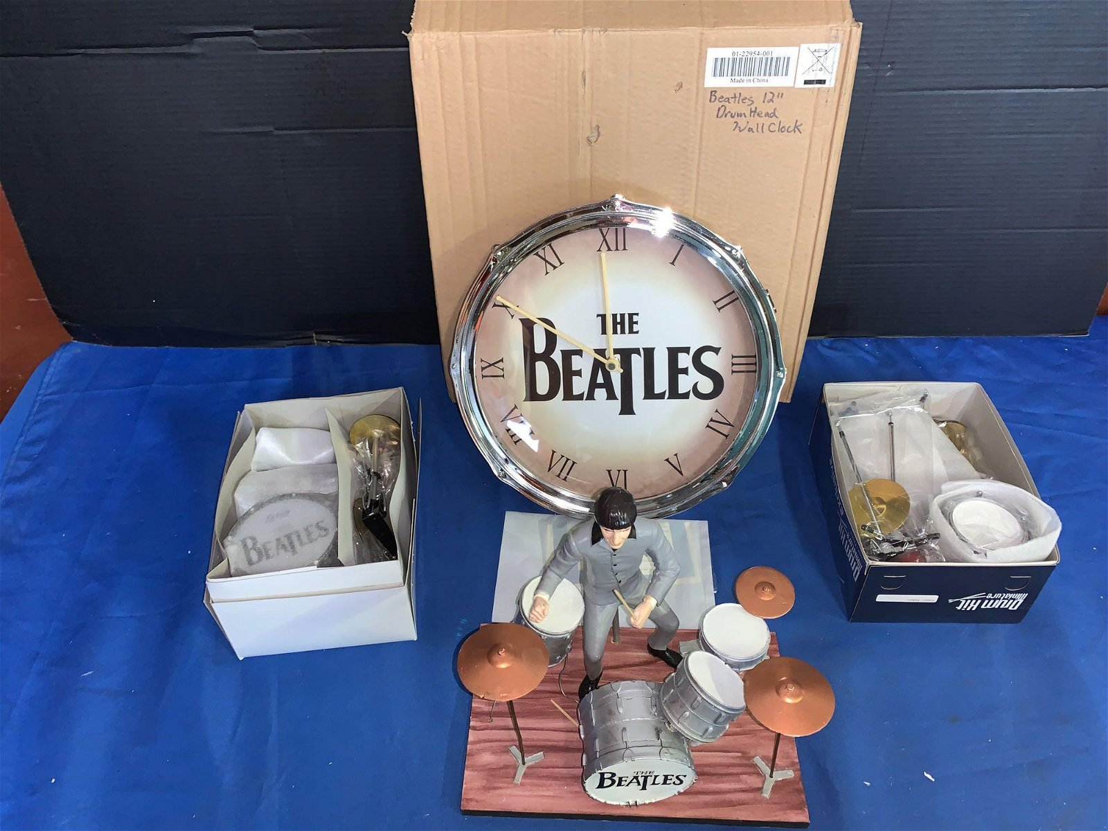 Grouping of Beatles & Drum-related Memorabilia