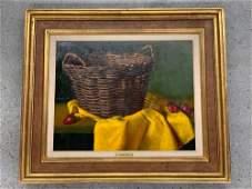 Gregory Hull. Oil on Canvas, Still Life