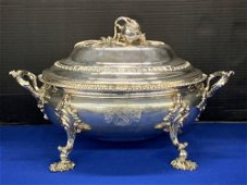 Fine Georgian Sterling Silver Covered Tureen