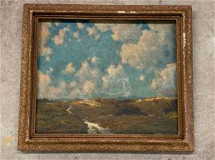 Robert Emmett Owen. Oil on Canvas, Landscape