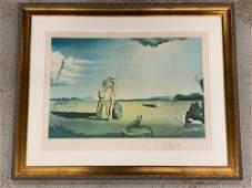 Salvador Dali. Lithograph, Animals