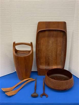 Grouping of Danish Teak Tablewares
