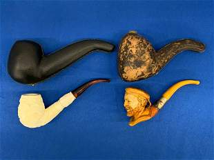 Collection of Two Meerschaum Pipes