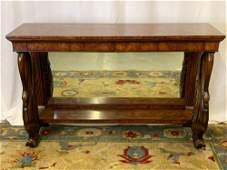 Theodore Alexander Swan Form Pier Table