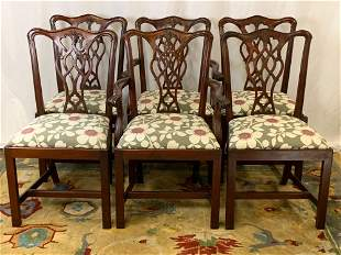 Six Councill Mahogany Dining Chairs
