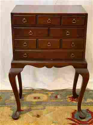 Hickory Chair Queen Anne-style Silver Chest