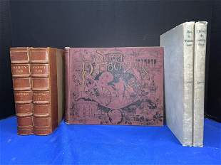 Five Books: Thackeray, Carroll, Shepp
