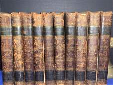 10 Volumes The Plays of William Shakespeare 1805