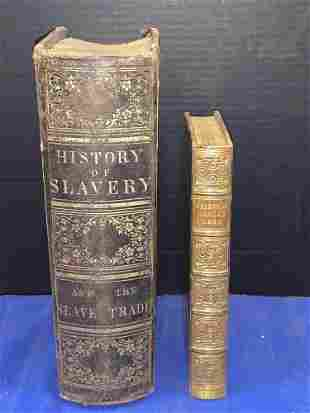 Two Books: Oriental Annual 1838 and Slavery 1857