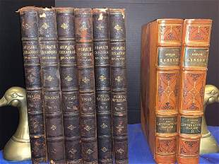 Two Book Sets: Animate Creation, French Literature