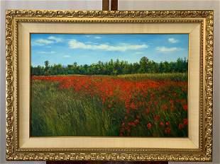 Joan White Spunner. Oil on Canvas, Landscape