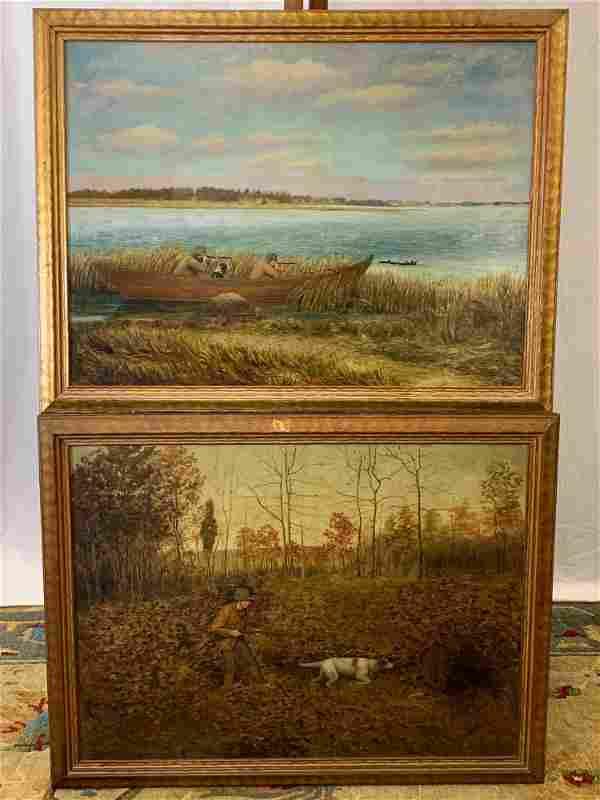 Two 19th Century Oils/Canvas, Sporting Scenes