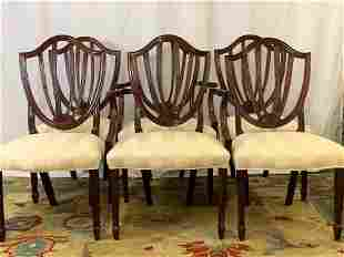 Six Baker Charleston Reproduction Dining Chairs