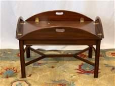 Henkel Harris Mahogany Butlers Tray Table