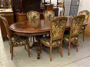 French Louis XVI-style Dining Room Suite