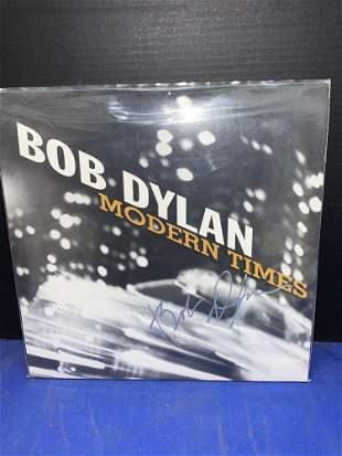 Autographed Bob Dylan Album, Modern Times