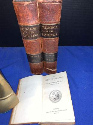 Book Lot: American Revolution and Life of Nelson