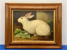 William Skilling. Oil on Canvas, Rabbit