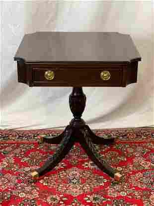 Century Furniture Mahogany Side Table