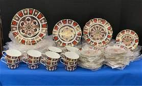 Royal Crown Derby Imari Porcelain China Service