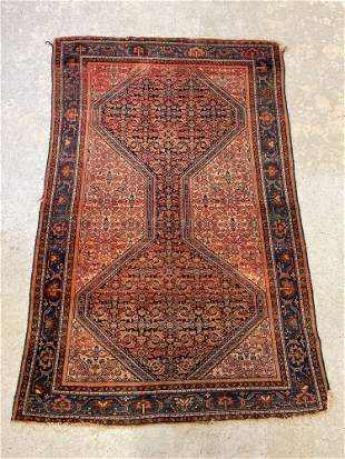 Persian Area Carpet, 6ft 1in x 4ft