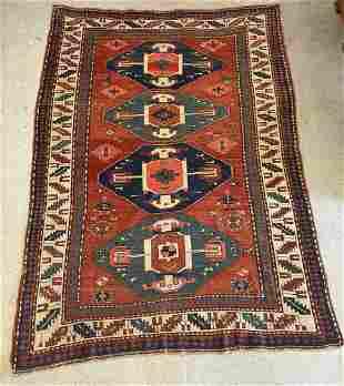 Caucasian Area Carpet, 7ft 10in x 5ft 6in