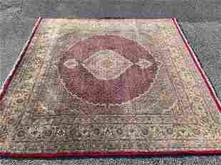 Persian Area Carpet, 8ft 1in x 8ft 3in