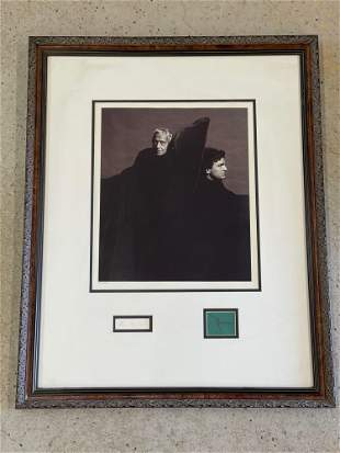 Photograph Print Signed by Andrew & Jamie Wyeth