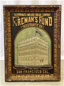 Fireman's Fund Insurance Co. Advertising Sign
