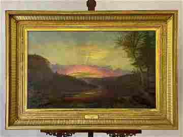 James Hope. Oil/Canvas, Twilight.