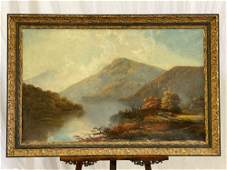 William Sheridan Young. Oil/Canvas, Landscape