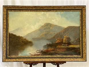 William Sheridan Young. Oil/Canvas, Landscape