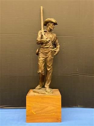 Edward Fraughton. Bronze Sculpture, Soldier