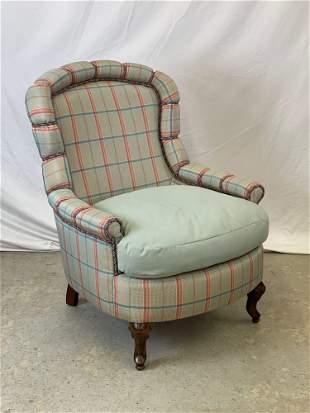 Brunschwig & Fils Decorator Lounge Chair