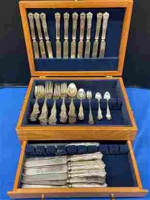 Hamilton & Diesinger Sterling Silver Flatware Service